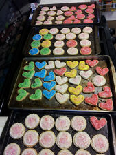 Fresh Homemade Cream Cheese Butter Cookies with Homemade Buttercream Frosting