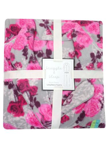M /& S snuggle and sleep soft warm fleece pyjamas choice of colours and prints