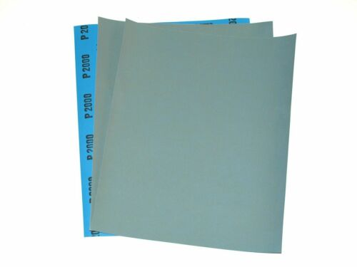 6x Sheet Grit 2500//5000//8000 Wet And Dry Sandpaper Fine Sand Paper MIXED GRIT