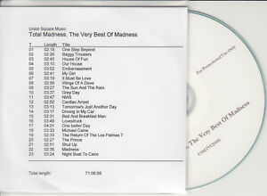MADNESS-Total-Madness-Very-Best-Of-2009-UK-23-trk-promo-test-CD