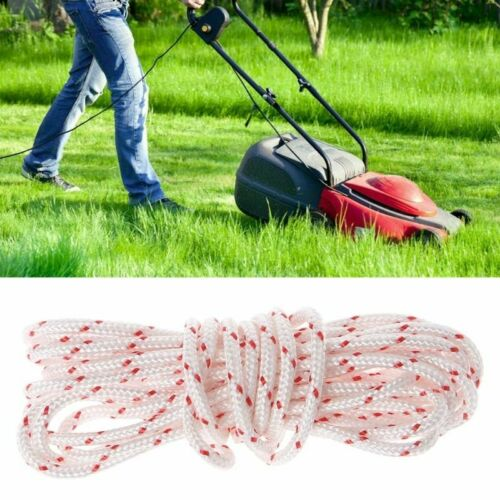 Lawnmower Pull Starter Recoil Cord Rope Line Engine Strimmer Chainsaw 3 Meters