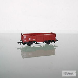 Minitrix-13529-Goods-Wagon-High-Sided-Wagon-German-Railways-for-Gauge-N