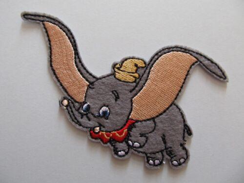 Disney Dumbo Elephant Iron on Applique Patch