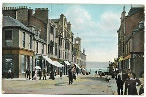 POSTCARDS-SCOTLAND-DUNBARTONSHIRE-HELENSBURGH-PTD-Sinclair-St-amp-MacIntosh-Rooms