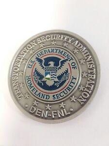 Details about RARE Homeland-TSA-DEN-FNL DENCC LTSO TSO BDO TSI FSD Staff  Challenge Coin