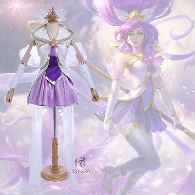LOL Star Guardian Magical Girl Janna Uniform Dress Outfit Cosplay Costumes