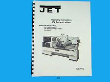 Jet Zx Series Lathes Gh 1440zx Thru Gh 2280zx Operator Manual 212