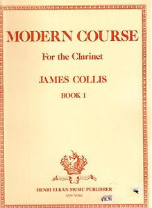 Modern-Course-for-the-Clarinet-James-Collis-Book-1-NEW