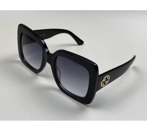Genuine Ladies Oversized Black Sunglasses GG0083S