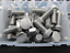 M5-M6-M8-M10 Assortiment boîte Boulon Vis de blocage StainlessSteel A2 Grade Qté 120 AT33