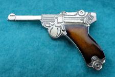 ZP38 German Luger Pistol Parabellum Semi Automatic Hand Gun pin badge