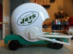 ONE-MID-1960-039-s-NEW-YORK-JETS-CUSTOM-MADE-1970-039-S-NFL-HELMET-BUGGY