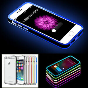 iphone 5s led case led flash light up remind incoming call cover skin 14822