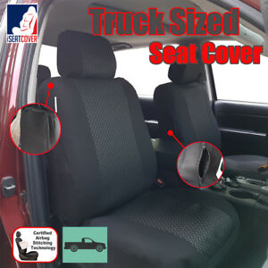Enjoyable Details About New Black Truck Car Seat Cover For Mid Size Full Size Pickups Gmc Sierra 1500 Caraccident5 Cool Chair Designs And Ideas Caraccident5Info