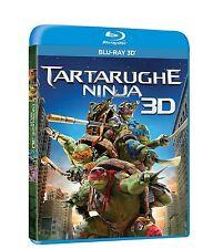 TARTARUGHE NINJA 3D (BLU-RAY 3D + BLU-RAY) con Megan Fox, Will Arnett