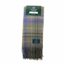 Great Gift: Pure New Wool Tartan Scottish Clan Scarf - Taylor Ancient