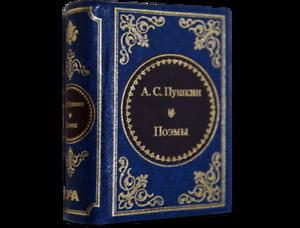 """Modern Mini 3/"""" Book Pushkin Eugene Onegin Russian Deluxe Souvenir Gift Miniature"""