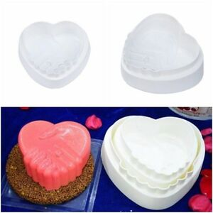 1PCS Silicone Big Romantic Love Peace Hand Molds Cake Pan Mousse Chiffon Cake