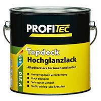 Profitec Topdeck Hochglanzlack P310 2,5l =27,98€/l Wunschfarbton Decklack