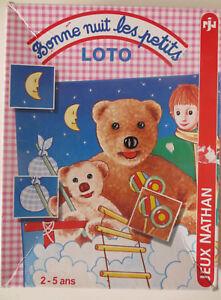 Loto-Bonne-nuit-les-petits-Nathan-Cavahel-Vintage