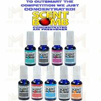 Buy 3 Get 2 Free Scent Bomb 100% Concentrated Air Freshener 1oz Car & Home Spray