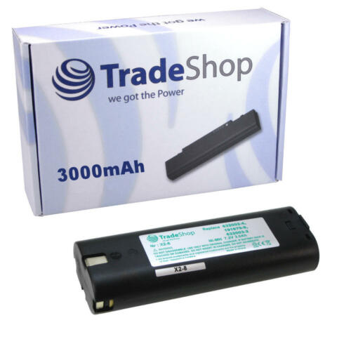 Batterie 7,2 V 3000 mAh pour mikrofyn Micro-Laser ml-10ld ml-10x ml-11ld ml-11x