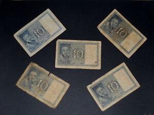 BIGLIETTO-DI-STATO-DA-LIRE-10-REGNO-DITTATURA-FASCISTA-ANNO-1938-RARA