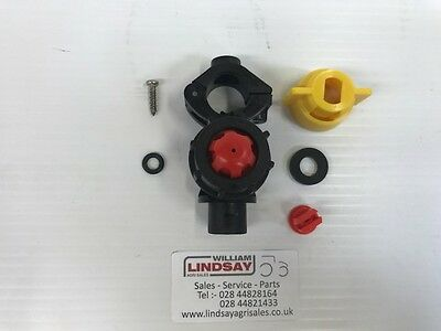 """ARAG 1//2/"""" Compact Sprayer Nozzle Holder Assembly c//w 3//8/"""" Threaded Cap /& Nozzle"""