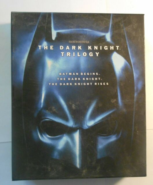 Batman Trilogie Blu Ray