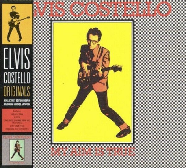 Elvis Costello My Aim Is True CD NEW SEALED 2007 Watching The Detectives/Alison+