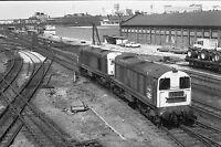 British Rail Class 20s Doncaster Quality 6x4 inch Rail Photo B