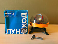 Old Vtg USSR Russian Space Walker Wind-up Astronauts Satellite Toy Original Box