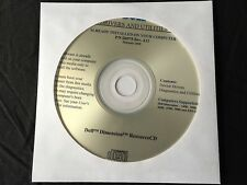 DELL Dimension 2400 3000 4600 4700 5000 XPS GEN 4 Drivers CD DVD Disc