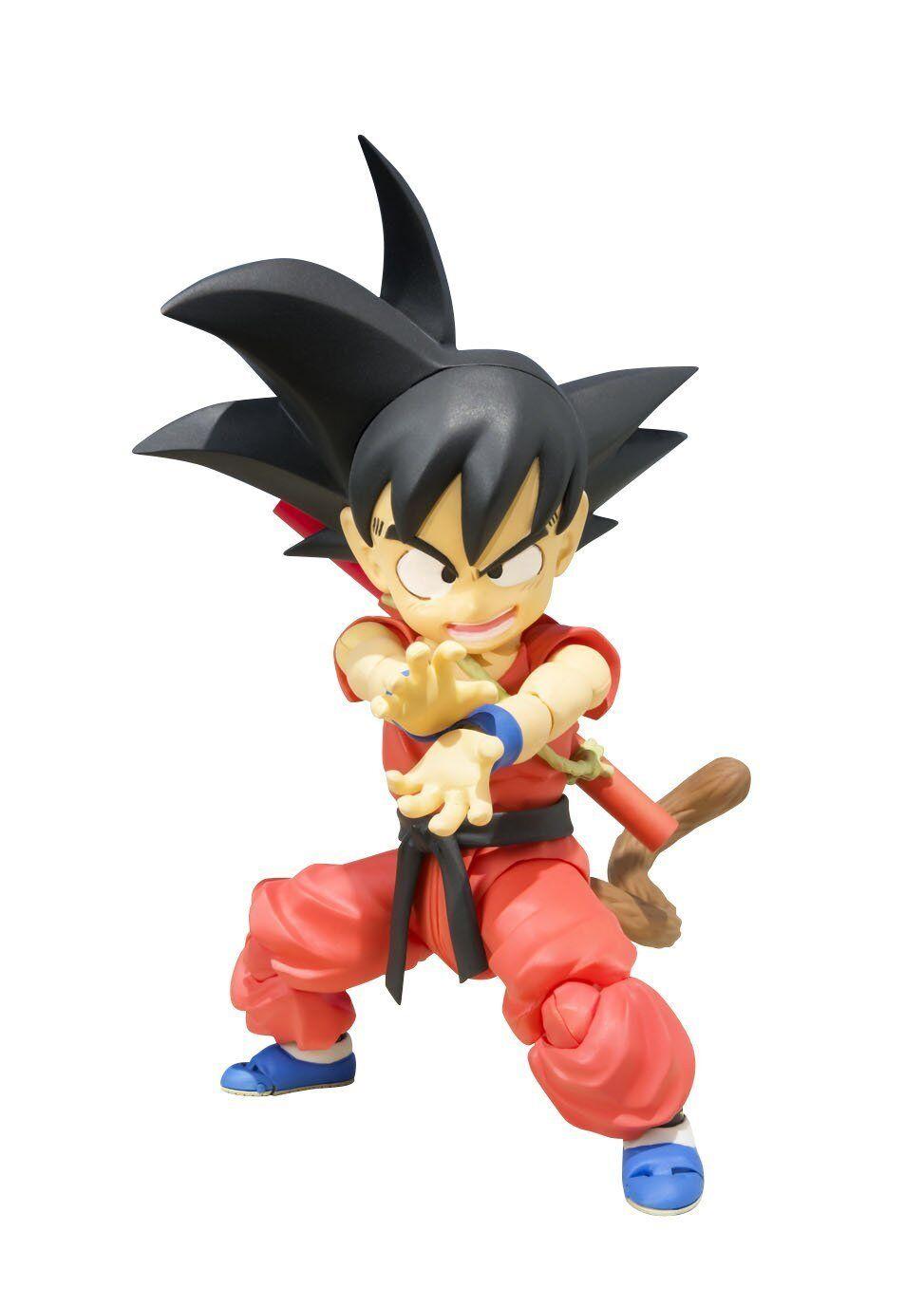 Bandai S.H. Figukonsts drake boll Goku Barndomän 100mm Action Figur