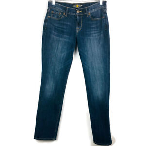 LUCKY-BRAND-SWEET-N-STRAIGHT-Women-Blue-Jeans-Sz-6-28-Medium-Wash-Low-Rise