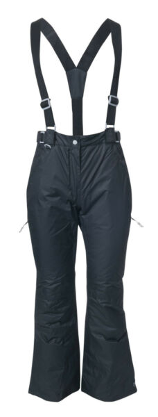 Hover to zoom · Womens TRESPASS Lohan Ski Pants BLACK Waterproof Padded  Protekt LT Snow Trousers 326ccd913