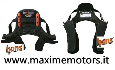 Collare Hans Stand21 Modello Club Omologato Fia Nuovo Rally 20°