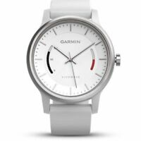 Garmin Vivomove Sport Activity Tracker Band (White)