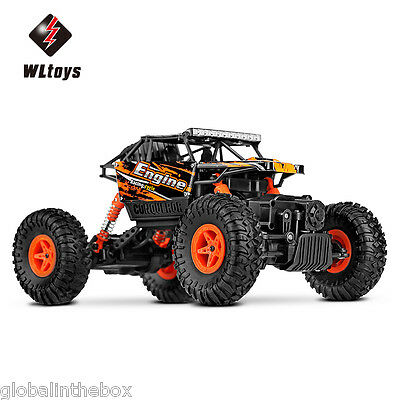 WLtoys 18428-B RC Voiture Camion Crawler 1:18 Scale 2.4G 4WD Véhicule Jouet EU
