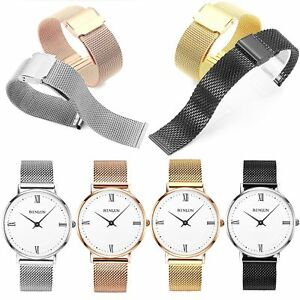 14-22mm-Stainless-Steel-Mesh-Watch-Band-Replacement-Strap-Belt-Buckle-Clasp