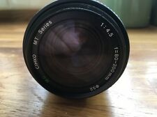 Cimko MT serie 80-200mm f4.5 Zoom Lens Pentax PK Fit