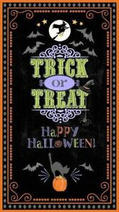 Here-039-s-for-the-Boos-Halloween-Cotton-Fabric-Panel-Wilmington-BFab