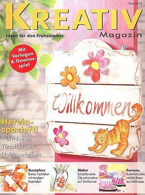Kreativ Magazin - Ideen für den Frühsommer  Mai 2010