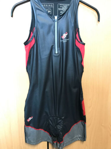 Rocket Science Sports Trisuit Race Suit plus size S black//red NEU