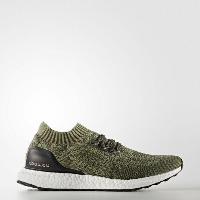 promo code 99d1e be2a3 adidas Ultra BOOST Uncaged Men's Running Shoes - BB3901 Olive Color_Restock