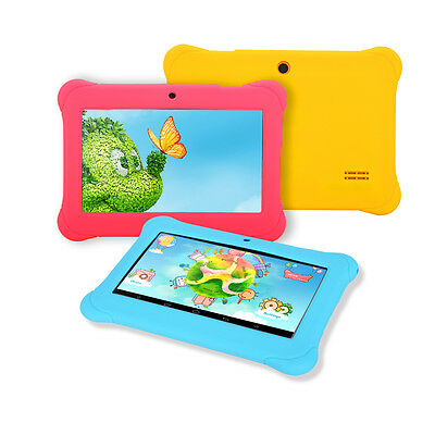 "iRULU 7"" Kids Learning Tablet PC Google Play Android 4.4 8GB Babypad w/ TF Card"