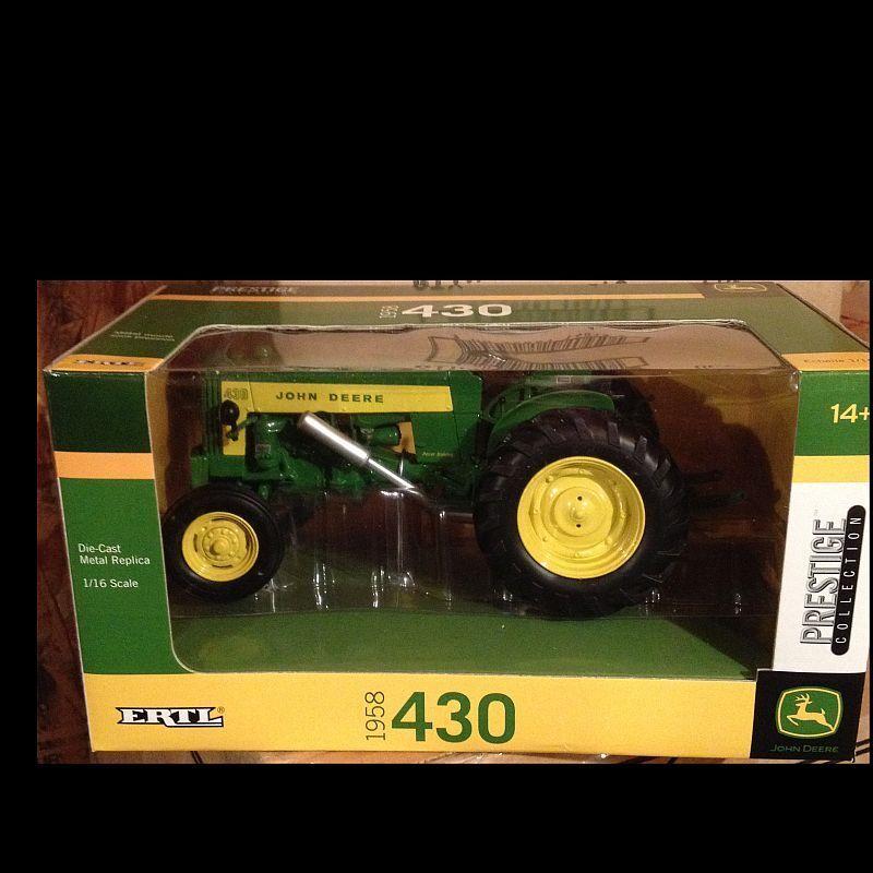 1958 JOHN DEERE 430 tracteur  1 16 Ertl 45298  profiter de vos achats
