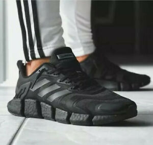 Details about Adidas Climacool Vento Size 9 Men's Triple All Black Shoes FX7841 NEW