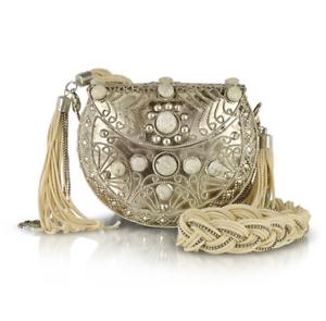 IvorySilver Star Shopping Bag