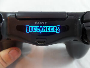 Image is loading PlayStation-4-PS4-Controller-Tampa-Bay-Buccaneers-Light- 2a1efdc26